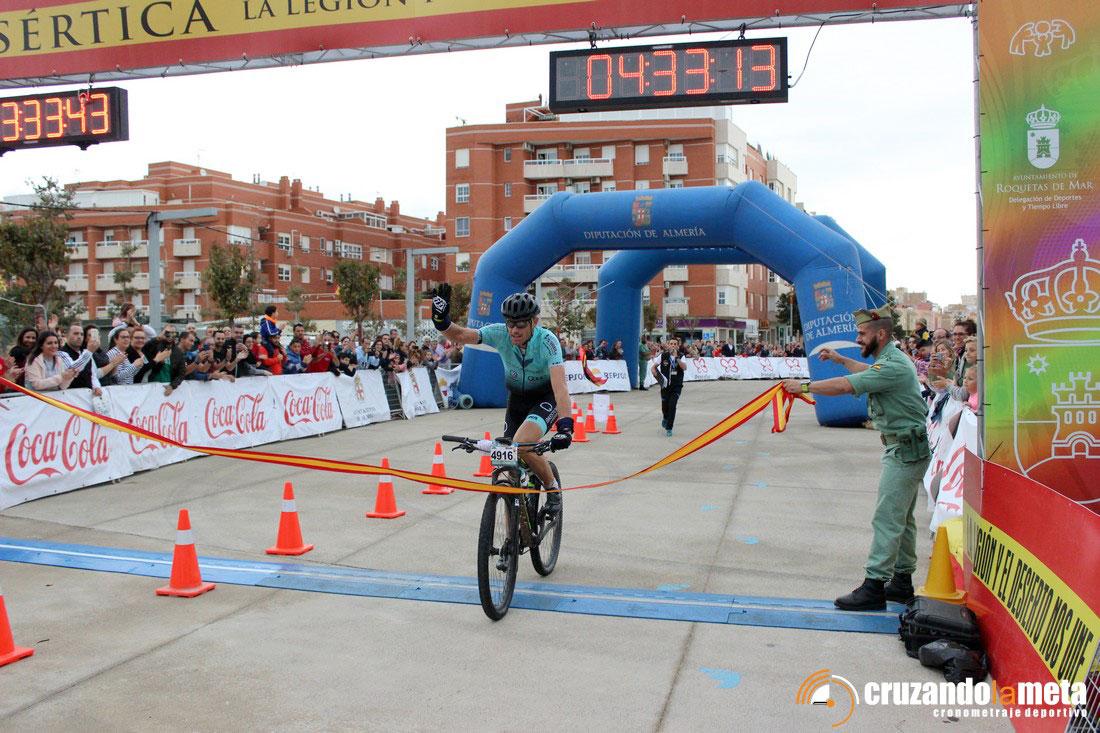 Carlos Golbano, ganador de La Desértica.