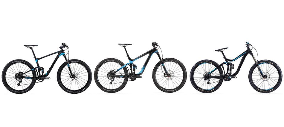 Un estudio biomecáncio diferente para cada tipo de bici.