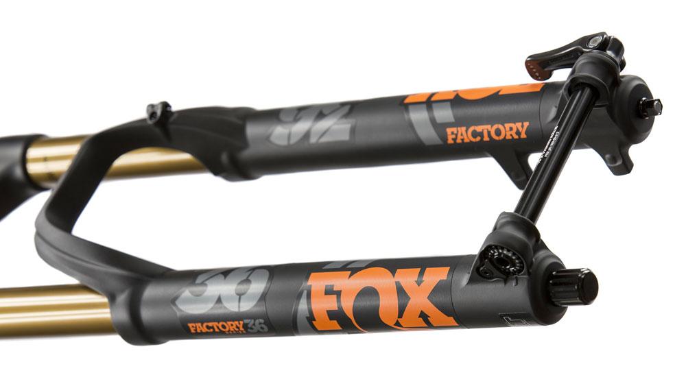 Horquilla Fox lista para equipar el nuevo cartucho Fit Grip 2.