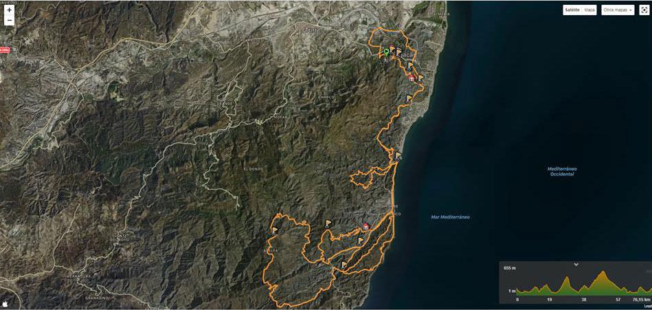 Track de La Mojaquera.