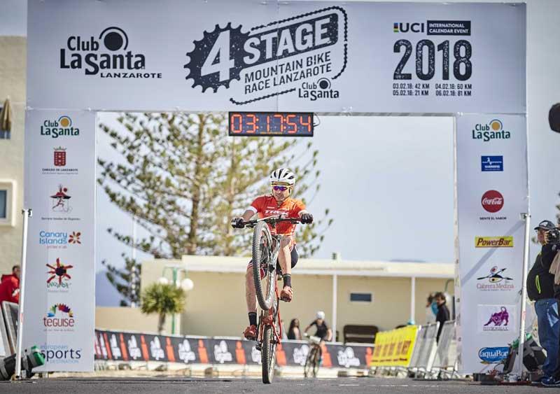 Sergio Mantecón en la 4 Stage Lanzarote