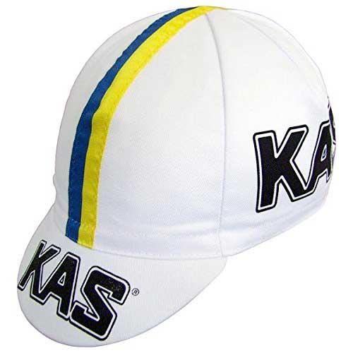 gorra vintage de ciclismo del equipo Kas.