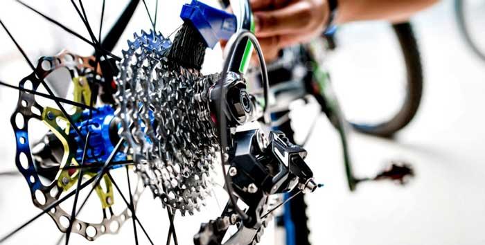 Cepillo para Transmisión y limpiar cadena de bici